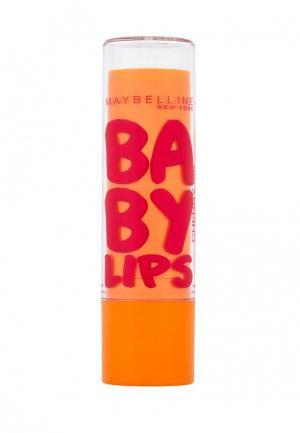 Бальзам для губ Maybelline New York Baby Lips, Вишня, восстанавливающий и увлажняющий, с легким красным оттенком запахом, 1,78 мл. Цвет: красный
