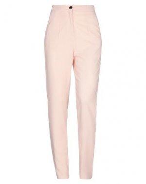 Повседневные брюки FRANCESCA PICCINI. Цвет: телесный