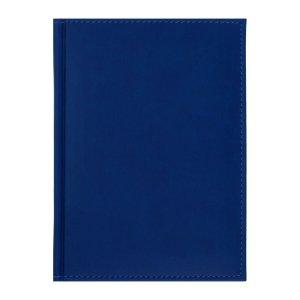 Ежедневник датированный а5 на 2022 год, 168 листов, обложка искусственная кожа vivella, синий Calligrata