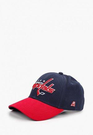 Бейсболка Atributika & Club™ Washington Capitals. Цвет: синий