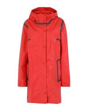 Легкое пальто COLUMBIA. Цвет: красный