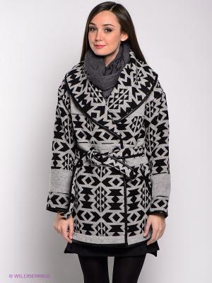 Пальто Dept. Цвет: светло-серый, черный