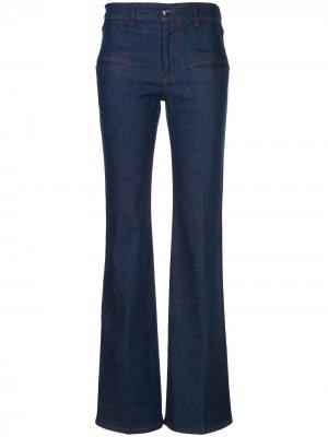 Расклешенные джинсы Serge Altuzarra. Цвет: синий