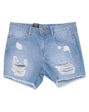 Джинсовые шорты 2ND ONE. Цвет: синий