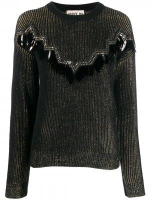 Декорированный свитер Aniye By. Цвет: черный