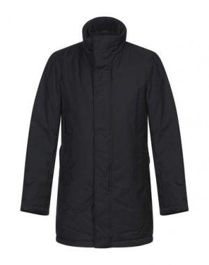Пальто ADHOC. Цвет: темно-синий