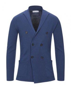 Пиджак FILIPPO DE LAURENTIIS. Цвет: синий