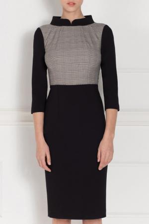 Платье Nissa. Цвет: black, gray