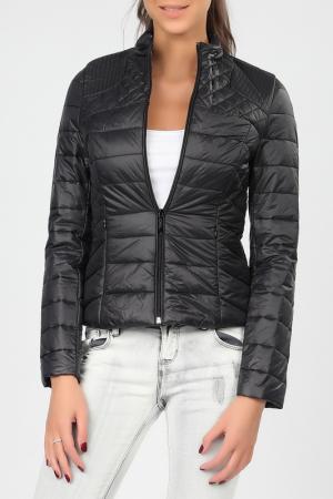 Куртка Cocogio. Цвет: черный