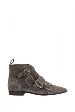 Ботинки BURBERRY LONDON. Цвет: серый