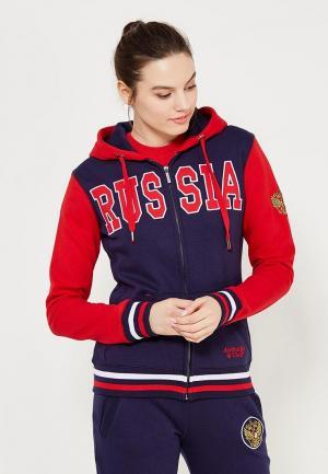 Толстовка Atributika & Club™ Russia. Цвет: синий