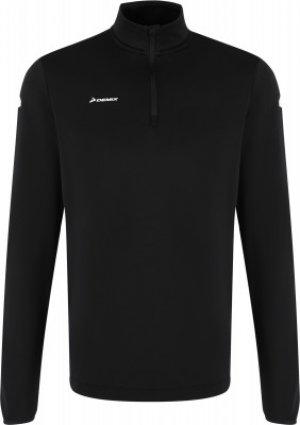 Джемпер футбольный мужской , размер 48 Demix. Цвет: черный