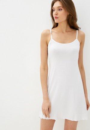 Сорочка ночная Arloni. Цвет: белый