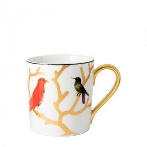 Кружка Aux Oiseaux Bernardaud. Цвет: разноцветный