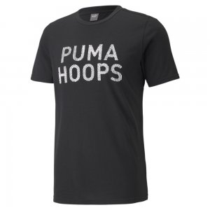 Футболка All Tournament Mens Basketball Tee PUMA. Цвет: черный