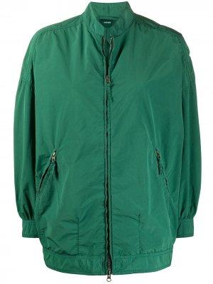 Куртка-бомбер с карманами Aspesi. Цвет: зеленый