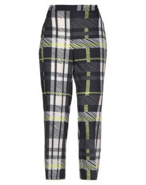 Повседневные брюки 1-ONE. Цвет: черный