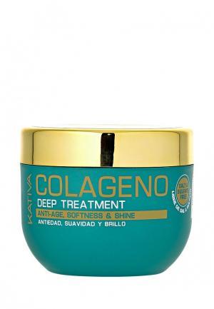 Маска для волос Kativa COLLAGENO Интенсивный коллагеновый 500 мл. Цвет: белый