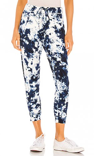 Спортивные брюки saku MIKOH. Цвет: синий
