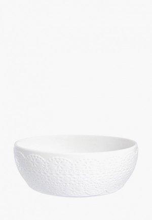 Салатник Elan Gallery. Цвет: белый