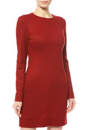 Платье DIANE VON FURSTENBERG. Цвет: бордовый