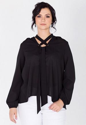 Блуза Filigrana. Цвет: черный