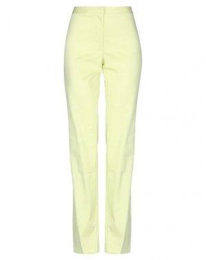 Повседневные брюки HENRY COTTON'S. Цвет: кислотно-зеленый