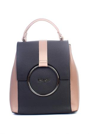 Рюкзак Dolci Capricci. Цвет: серый, пудровый
