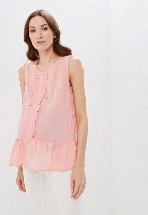 Блуза Очаровательная Адель. Цвет: розовый