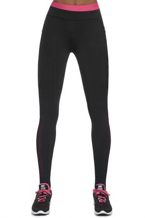 Pants BAS BLEU. Цвет: black, pink