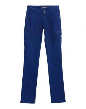 Повседневные брюки PAULINE B.. Цвет: синий