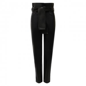 Кожаные брюки Iro. Цвет: чёрный