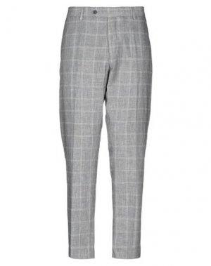 Повседневные брюки ANTONY MORATO. Цвет: светло-серый