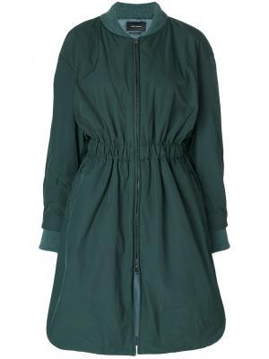 Пальто-бомбер Deimos Isabel Marant. Цвет: зелёный