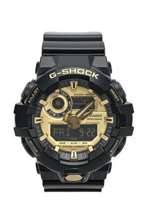 Часы Casio G-SHOCK GA-710GB-1A. Цвет: черный
