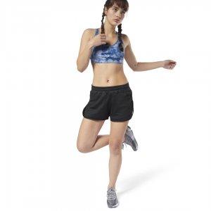 Спортивные шорты Running Mesh Reebok. Цвет: black