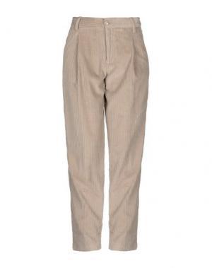 Повседневные брюки EUROPEAN CULTURE. Цвет: песочный