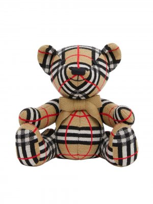 Мягкая игрушка медведь Burberry Kids. Цвет: нейтральные цвета