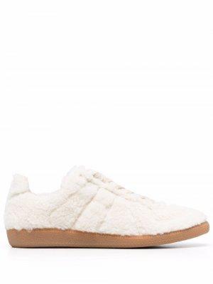 Replica shearling sneakers Maison Margiela. Цвет: нейтральные цвета