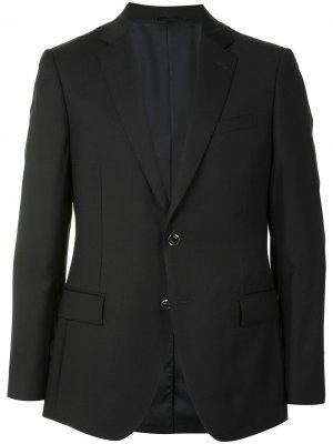 Durban однобортный пиджак узкого кроя D'urban. Цвет: черный