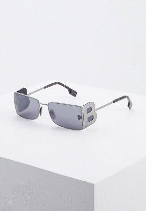 Очки солнцезащитные Burberry BE3110 10036G. Цвет: черный