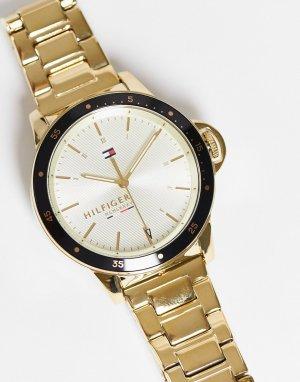 Женские часы Tommy Hilfiger Diver-Золотистый BOSS