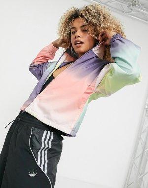 Разноцветная олимпийка от костюма x Girls Are Awesome-Мульти adidas Originals