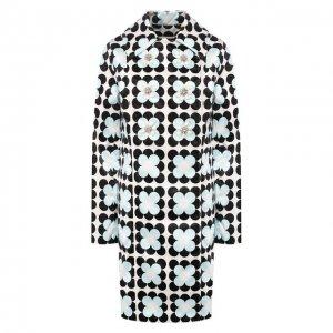 Пальто 0 Moncler Richard Quinn Genius. Цвет: чёрно-белый