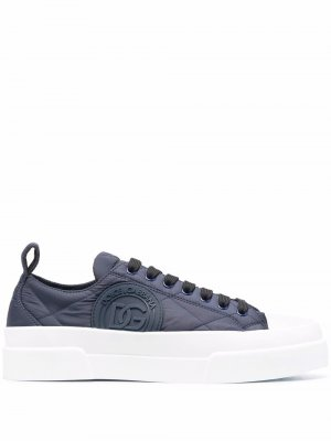 Portofino low-top sneakers Dolce & Gabbana. Цвет: синий