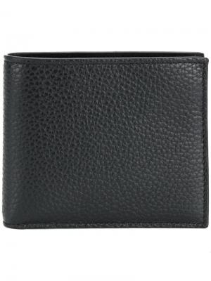 Складной кошелек Canali. Цвет: черный