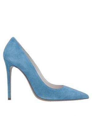 Туфли DEIMILLE. Цвет: пастельно-синий