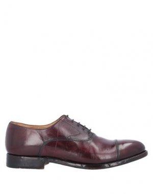Обувь на шнурках ALBERTO FASCIANI. Цвет: красно-коричневый