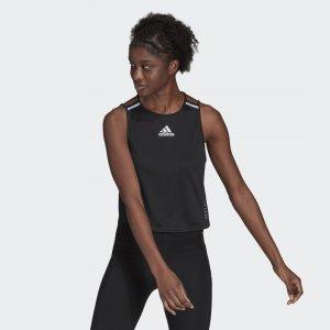 Майка для бега HEAT.RDY Performance adidas. Цвет: черный
