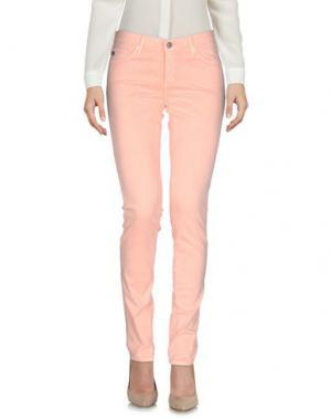 Повседневные брюки AG JEANS. Цвет: лососево-розовый